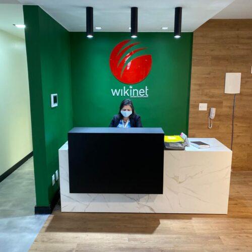 Wikinet de casa nova